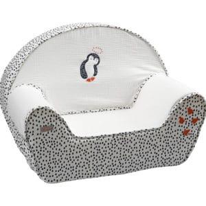 fauteuil pingouin blanc