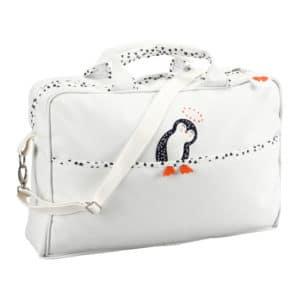sac à langer pingouin