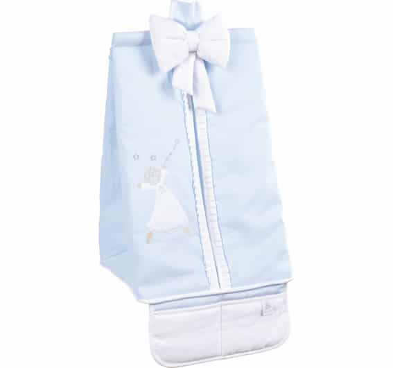 porte couches gabriel bleu