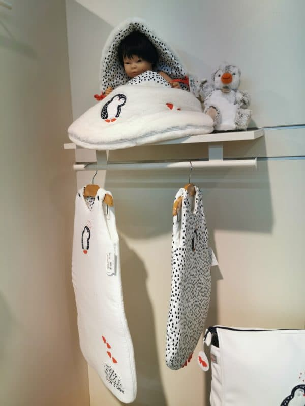Gigoteuse 90cm Pingouin Uni 2