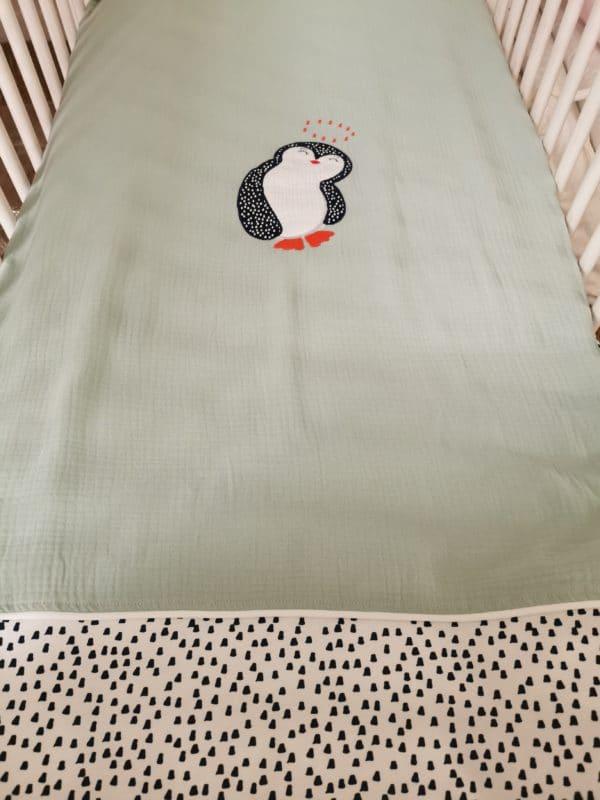 Edredon Pingouin Vert 1