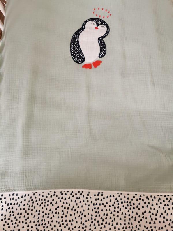 Edredon Pingouin Vert 2