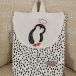 Sac à Dos Pingouin Blanc 3