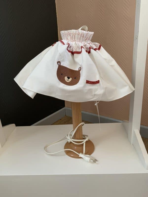 lampe de chevet ours