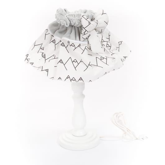 lampe de chevet lamamour gris