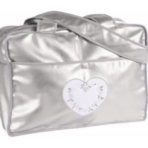 sac à langer petit coeur