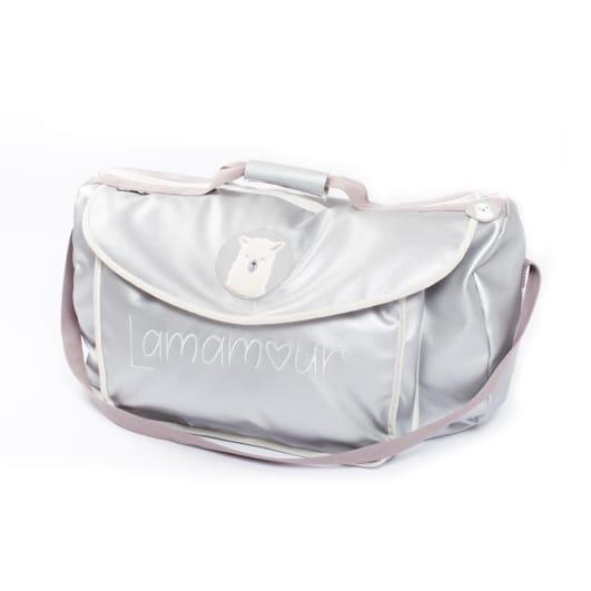 sac de voyage lamamour gris