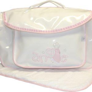 sac de voyage ange rose