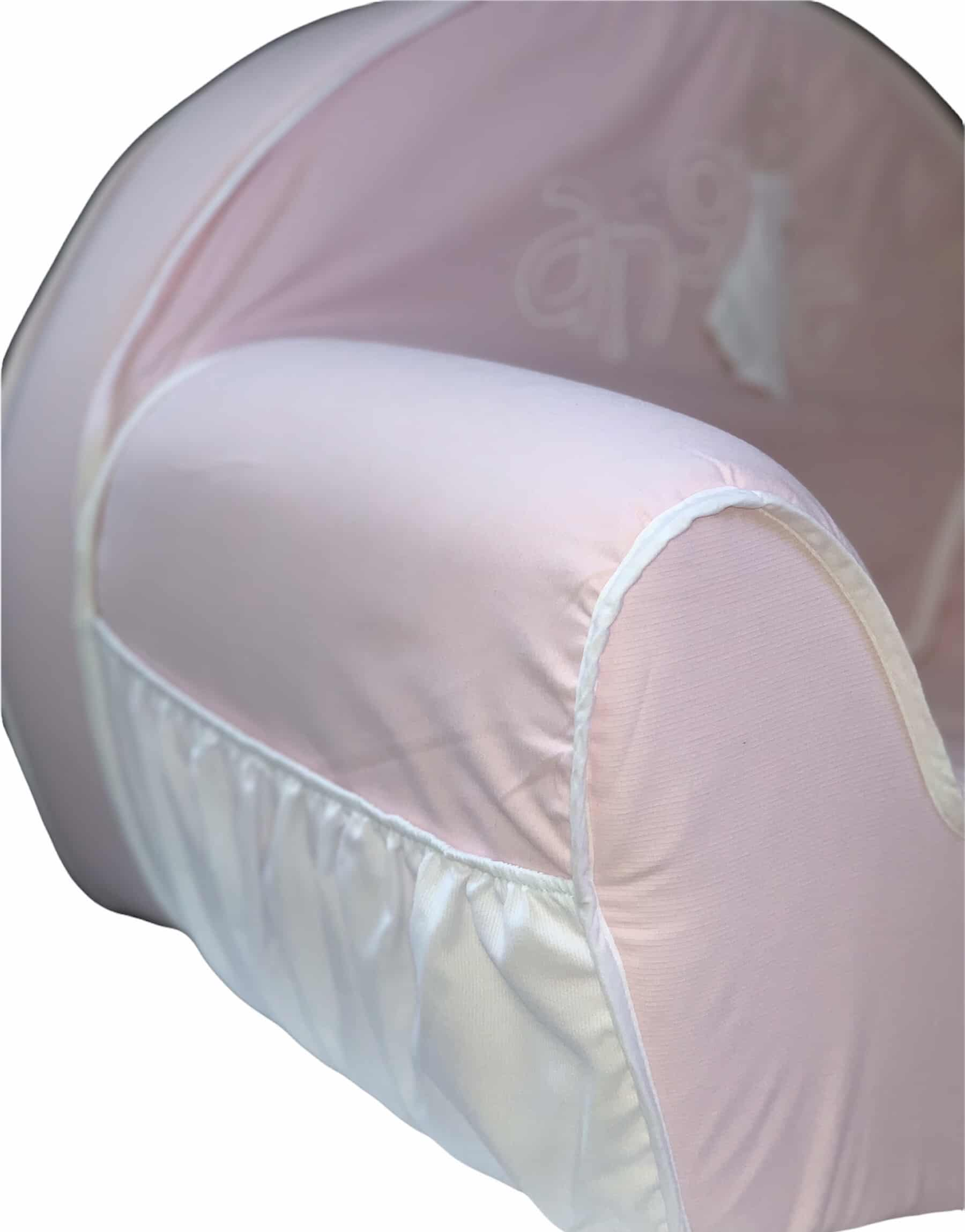 Fauteuil Ange rose 3