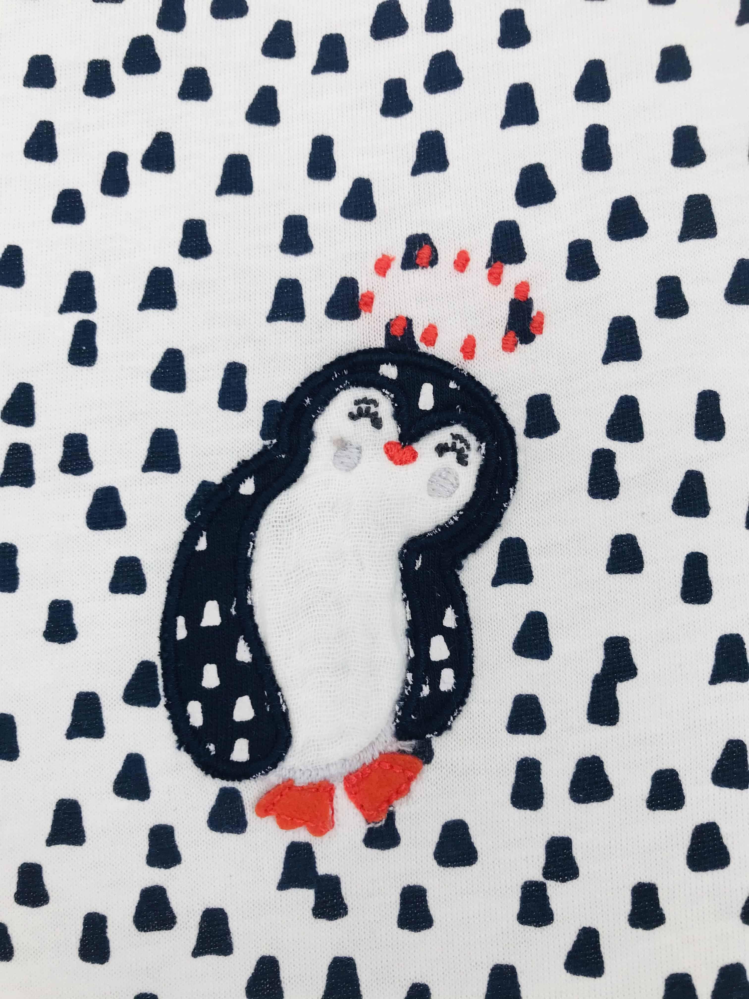 Gigoteuse 50cm Pingouin 6