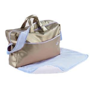 sac à langer Beryl bleu