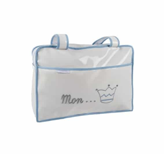 sac à langer prince bleu