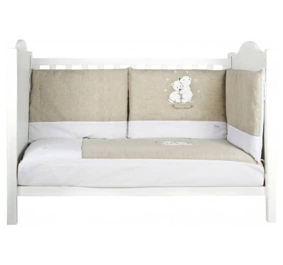 parure de lit nougat et cannelle