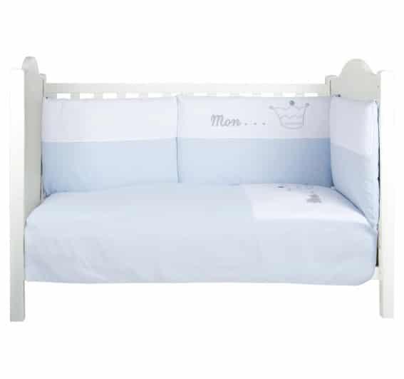 tour de lit prince bleu strass swarovski