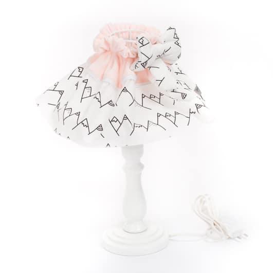 lampe de chevet lamamour rose