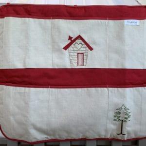 vide poche maison rouge