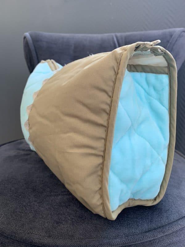 Trousse De Toilette Pompon Turquoise 3