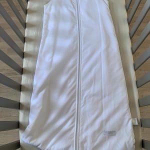 gigoteuse 90cm gris blanc