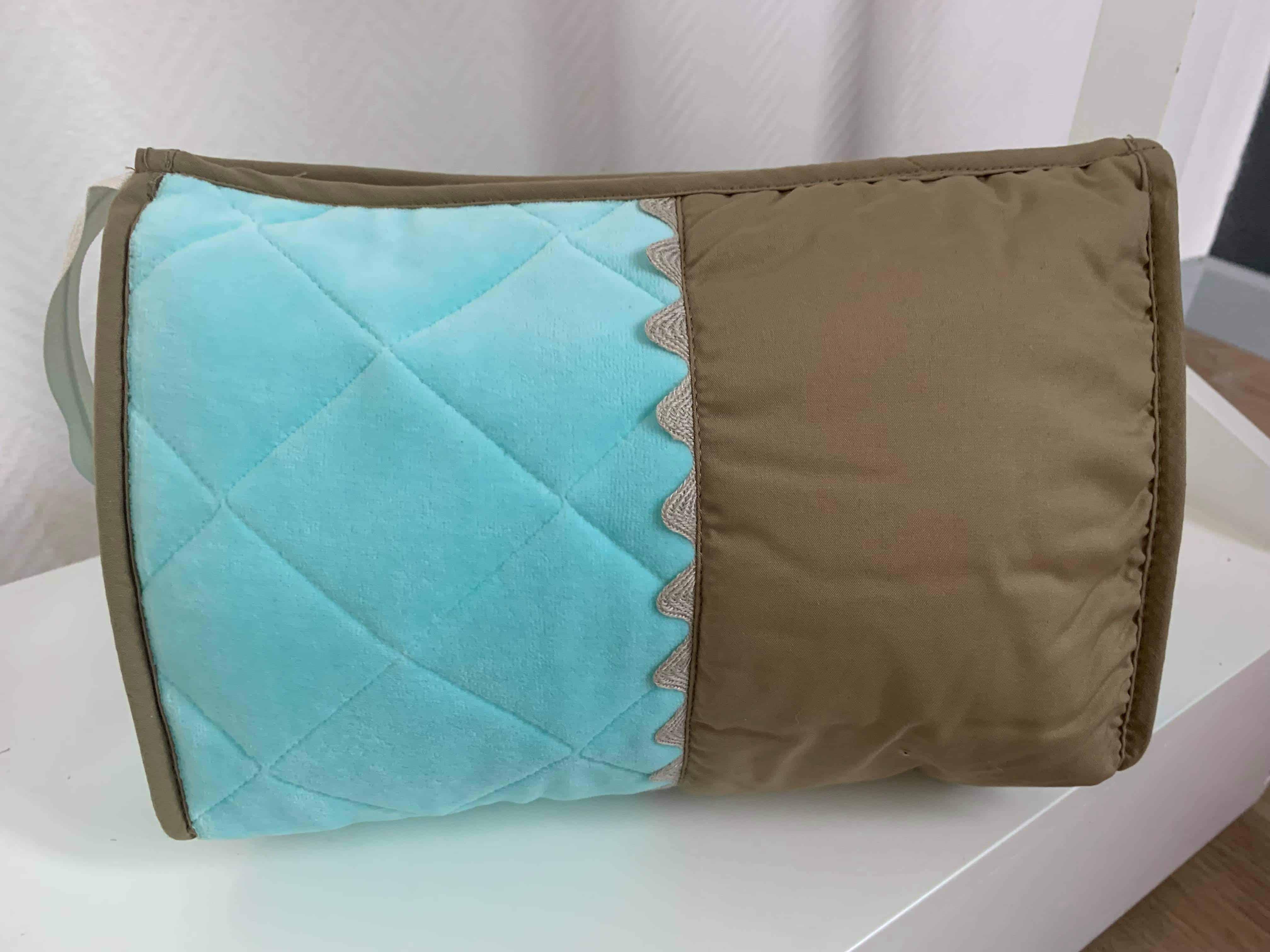 Trousse De Toilette Pompon Turquoise 1