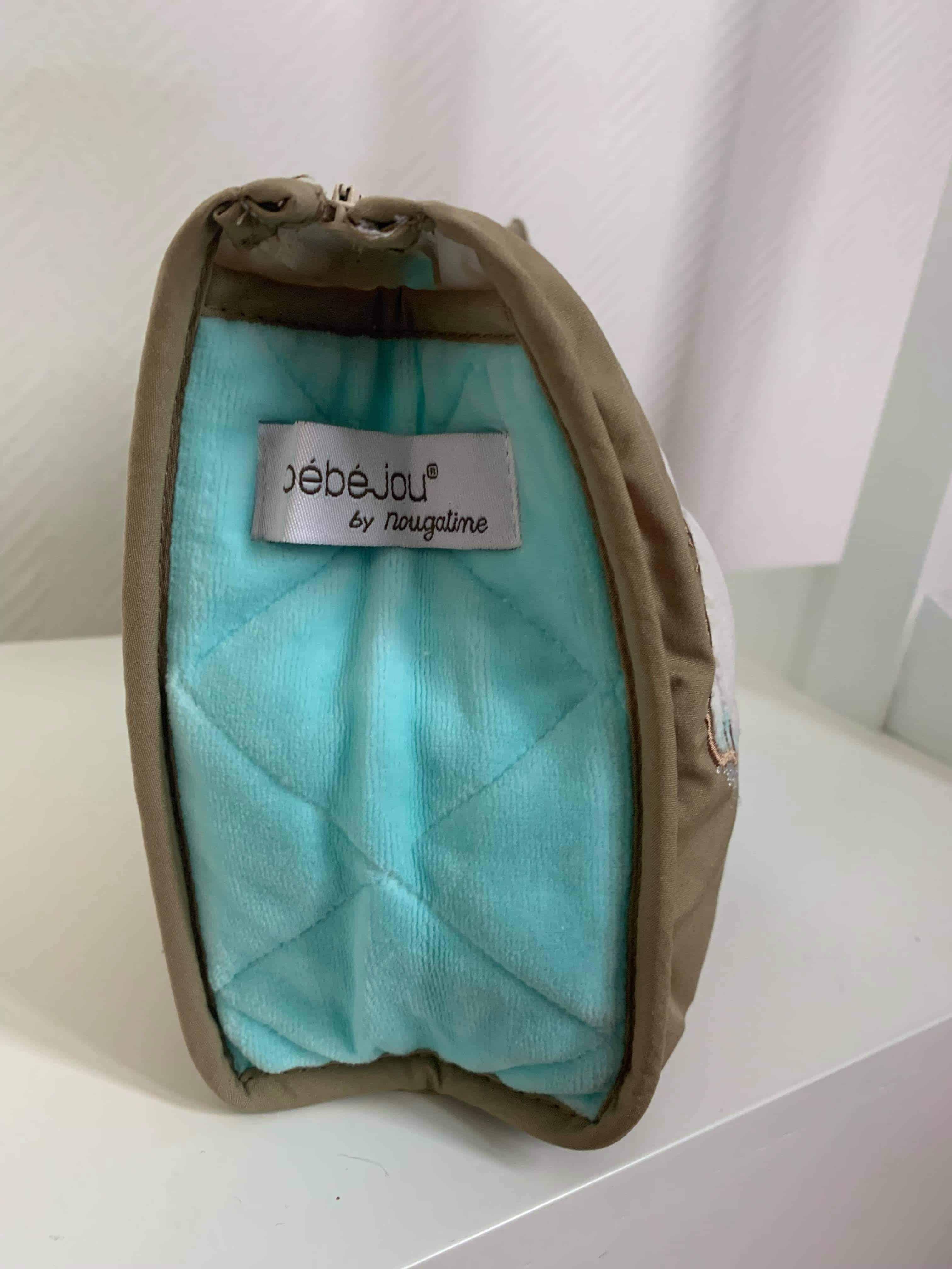 Trousse De Toilette Pompon Turquoise 2