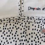 Porte Couches pingouin Blanc 5