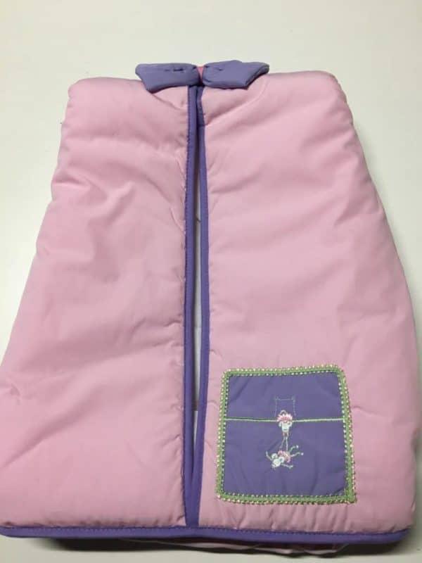 porte couches souris rose