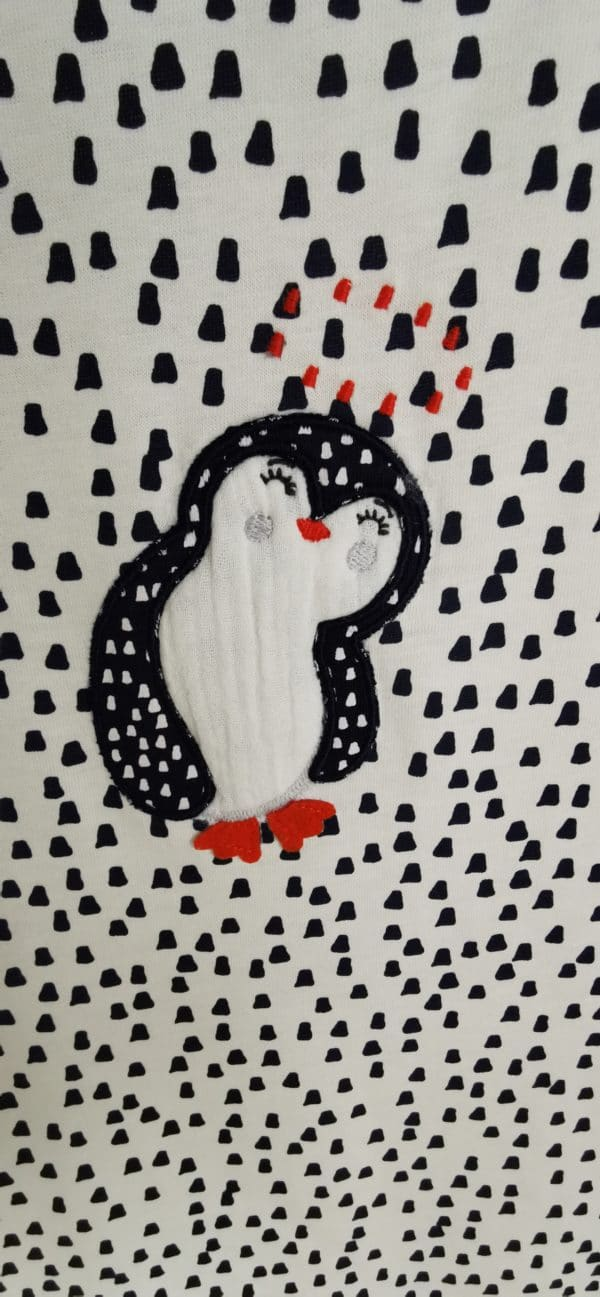 Gigoteuse 90cm Pingouin Uni 4