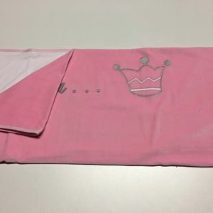 Couverture Princesse Rose Fonçé