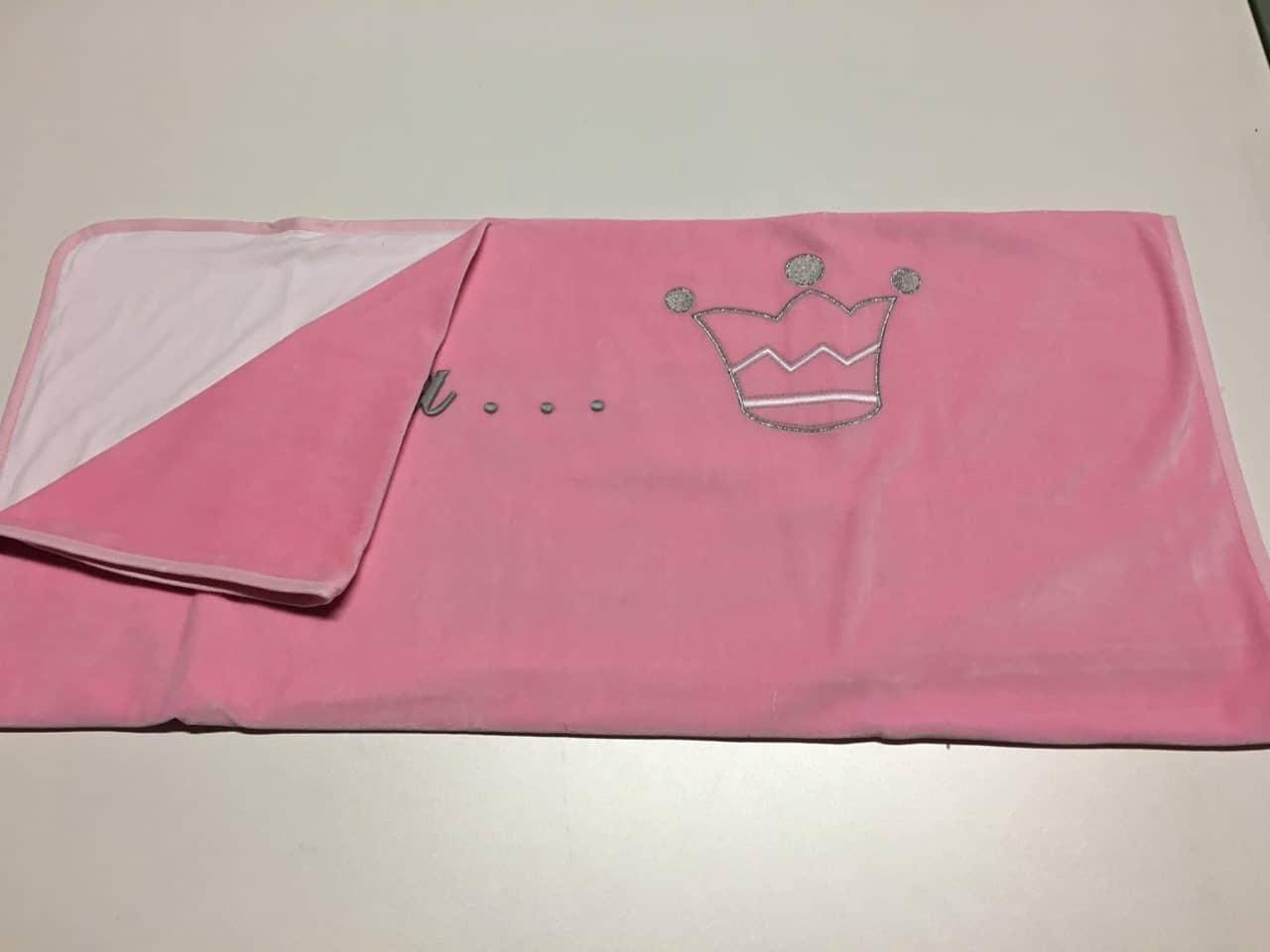 Couverture Princesse Rose Fonçé