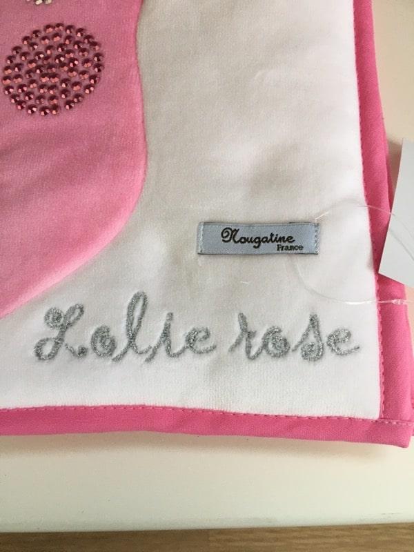 Protège Carnet de Santé Lolie Rose 2