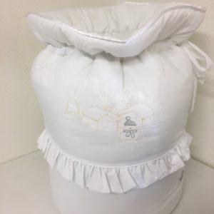 sac a linge neige