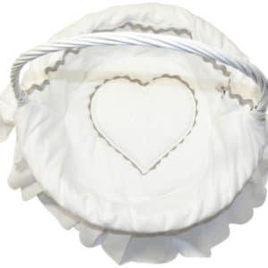corbeille emma blanc