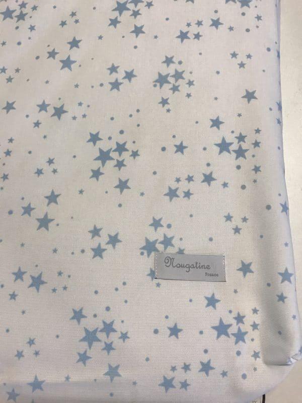 Drap Housse Etoile bleu 60X120 1
