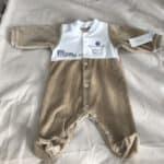 Pyjama 1 mois Prince Beige 2