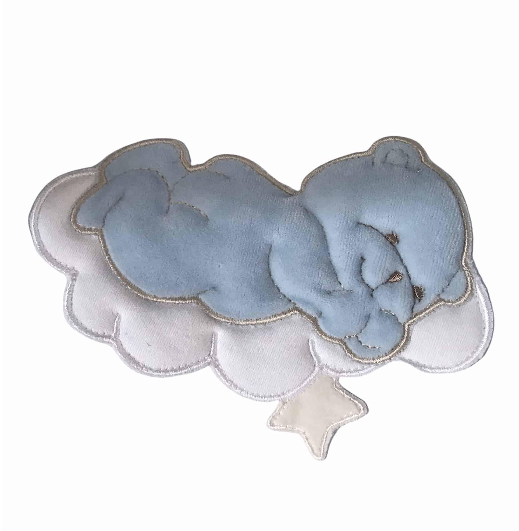 Couffin Bisous Bleu 1