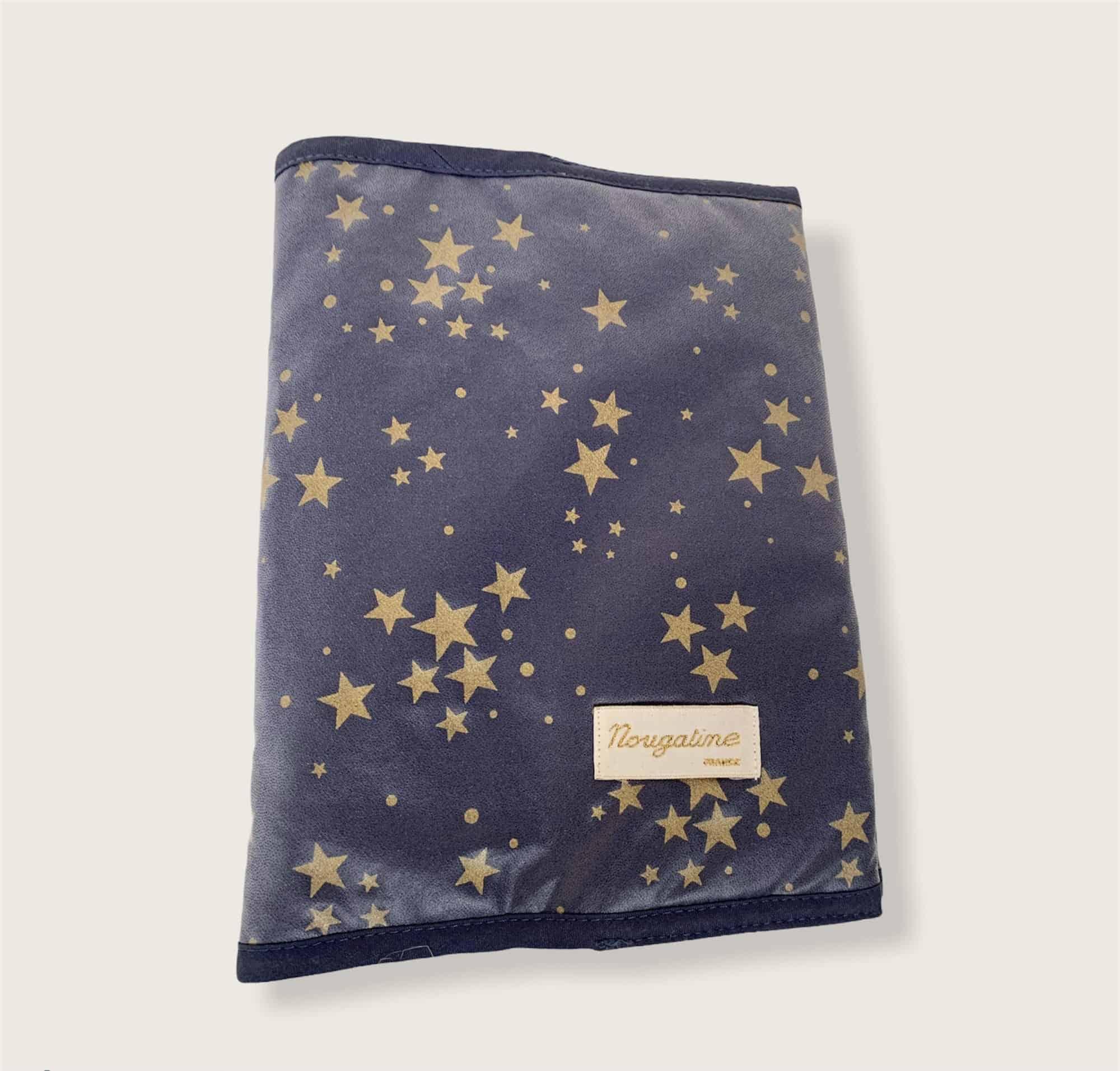 Protège Carnet de Santé constellation bleu 1