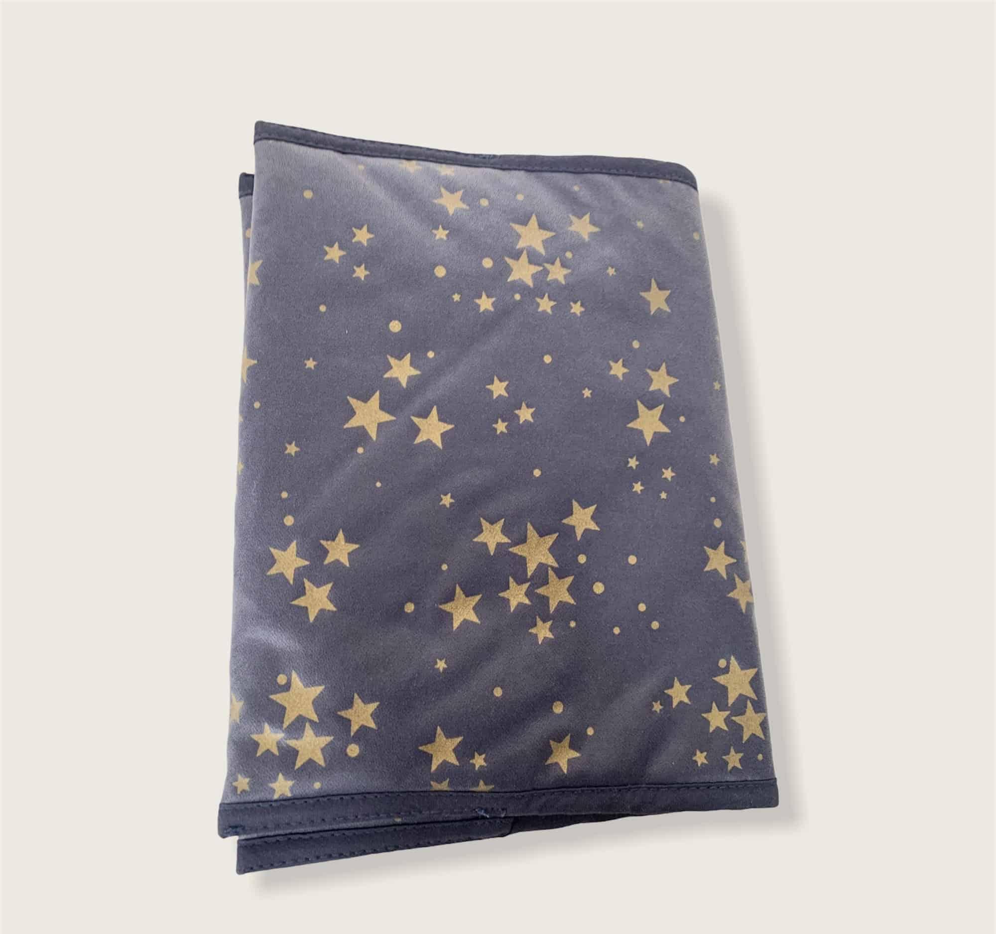 Protège Carnet de Santé constellation bleu 2