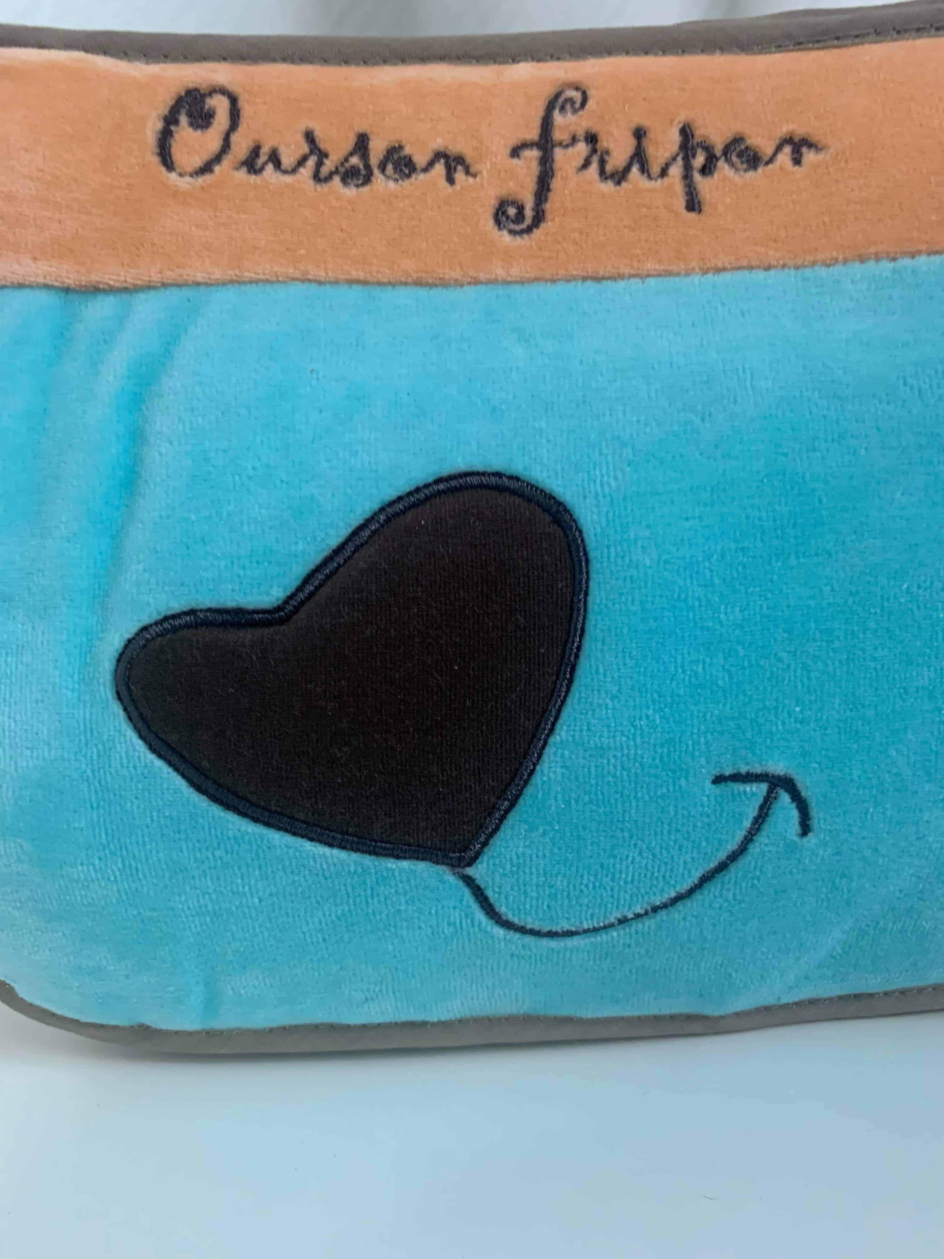 Trousse De Toilette Ourson Frippon orange 2