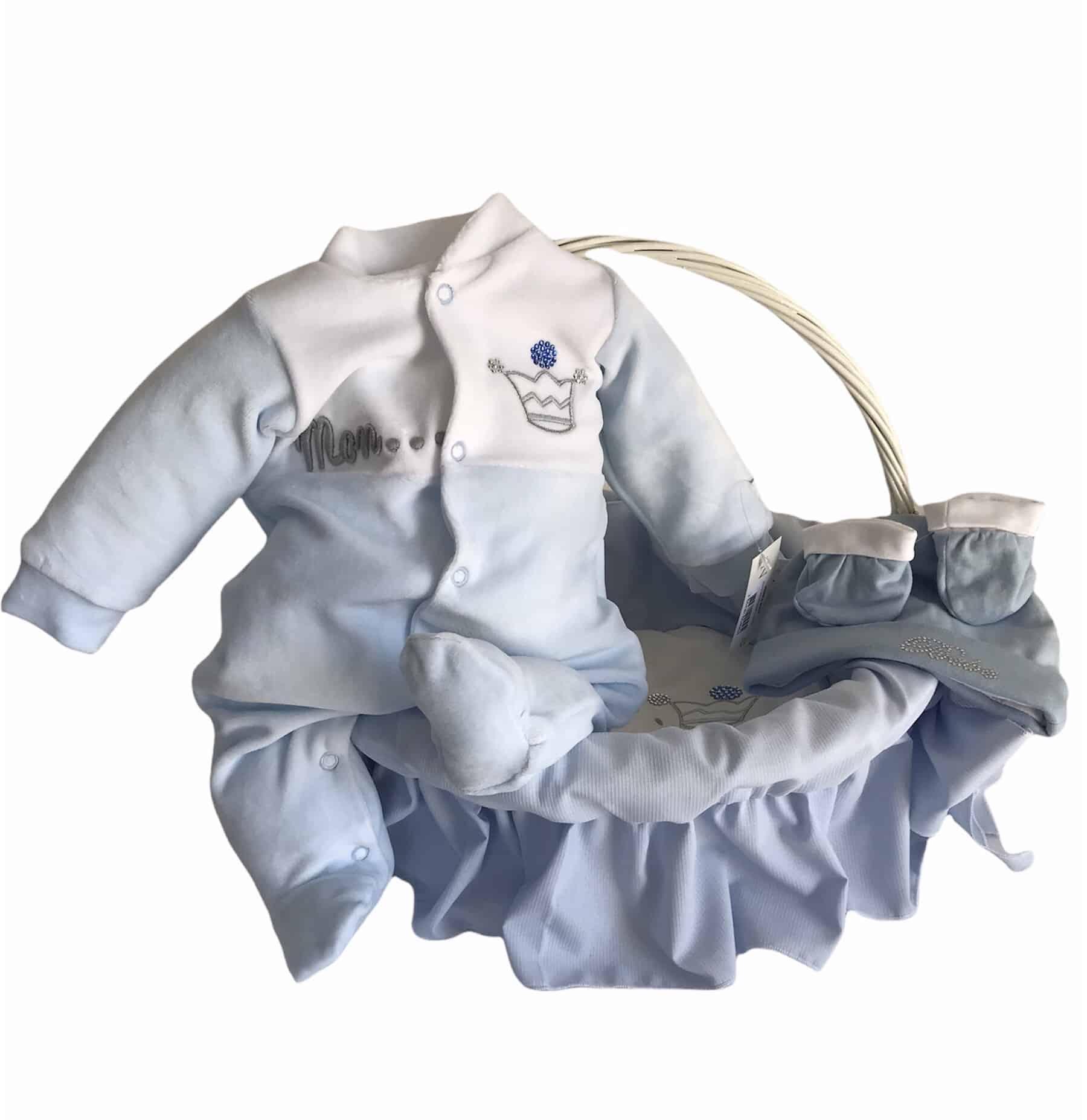 Pack cadeau naissance Prince Bleu 1