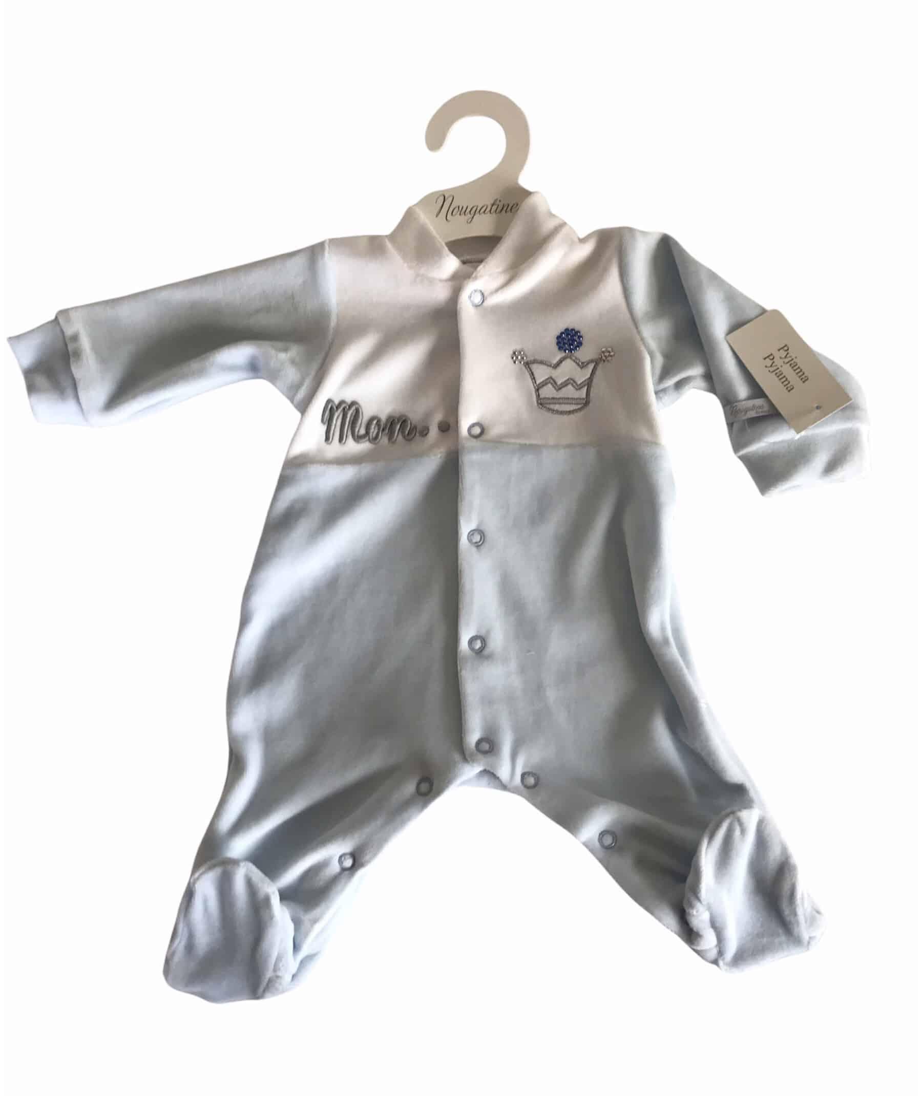 Pack cadeau naissance Prince Bleu 8