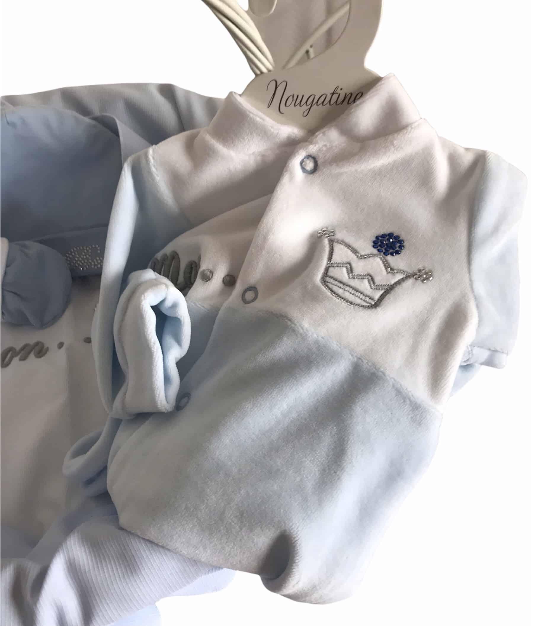 Pack cadeau naissance Prince Bleu 7