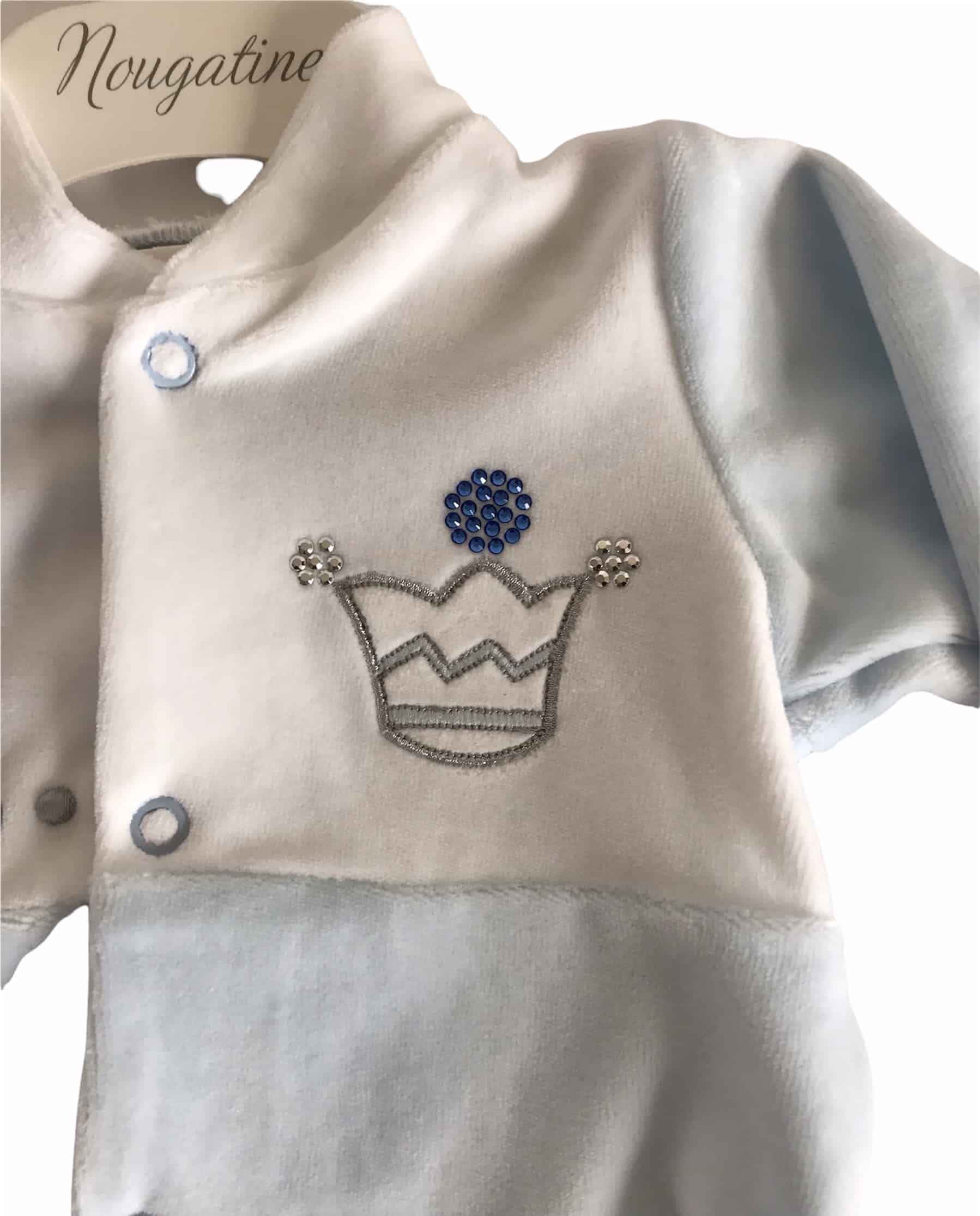 Pack cadeau naissance Prince Bleu 10